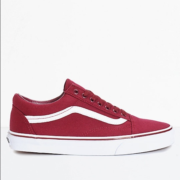 Vans Shoes | Vans Old Skool Maroon Vans